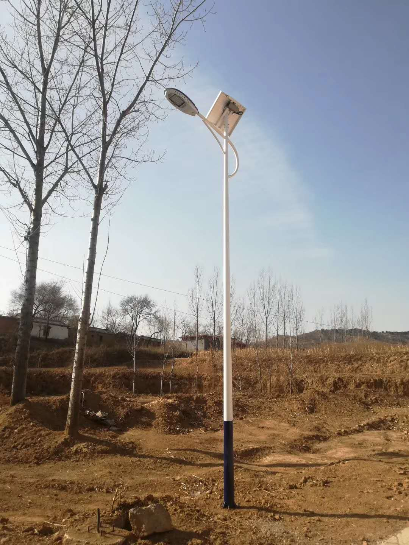 山西临汾新农村太阳能路灯安装