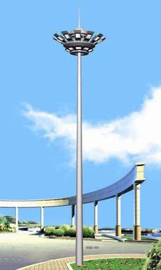 广场高杆灯图片